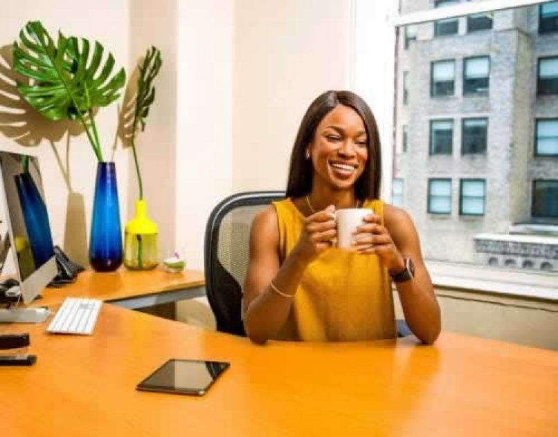 Receptionist for a small Lagos startup company