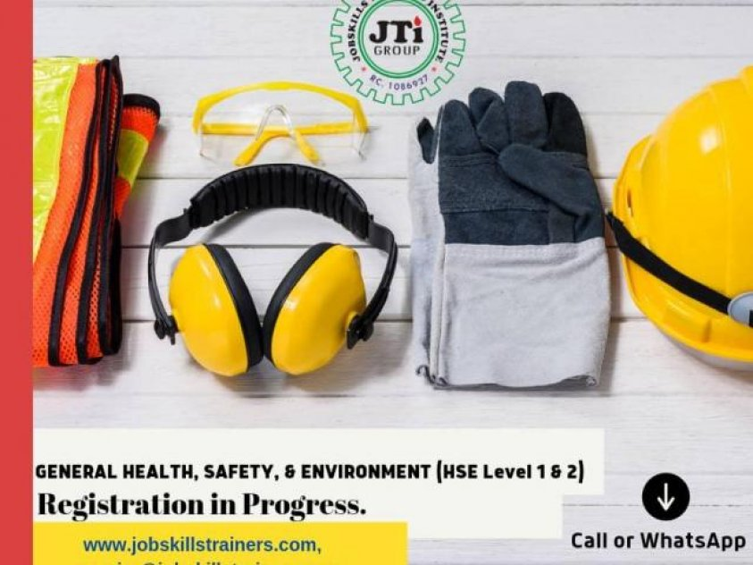 GENERAL HEALTH, SAFETY & ENVIRONMENT TRAINING (LEVEL 1 & 2 OF 3)