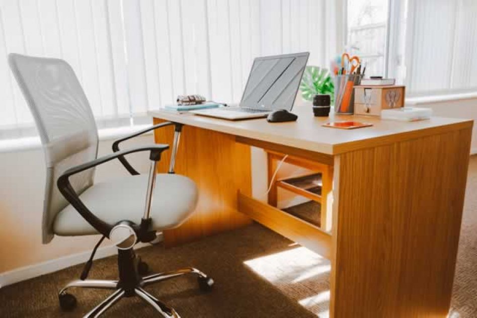 Office furniture for sale including computer chair and desk
