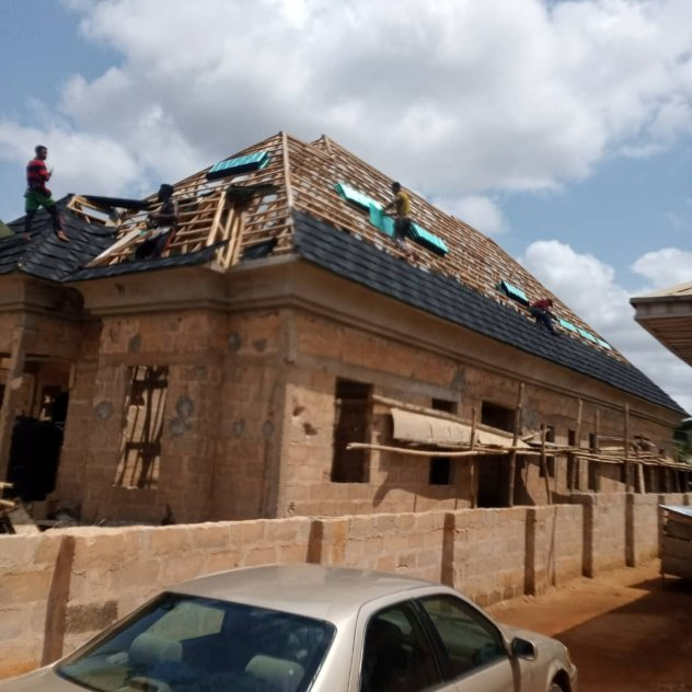 Quality Stone coated roofing tiles and Aluminium roofing sheets in Nigeria.