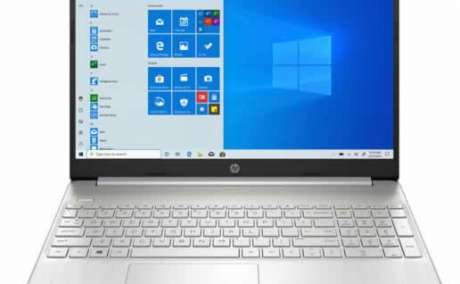 "HP 15.6"" Laptop 8GB RAM Quad-core 2.1GHz AMD OpenBox - Silver Color"