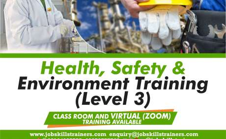 HEALTH, SAFETY & ENVIRONMENT TRAINING (LEVEL 3 OF 3)